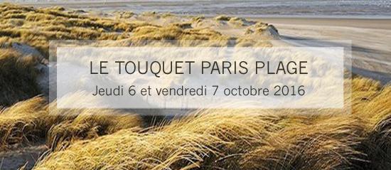Journées Nationales d'Etudes 2016 – LE TOUQUET-PARIS-PLAGE