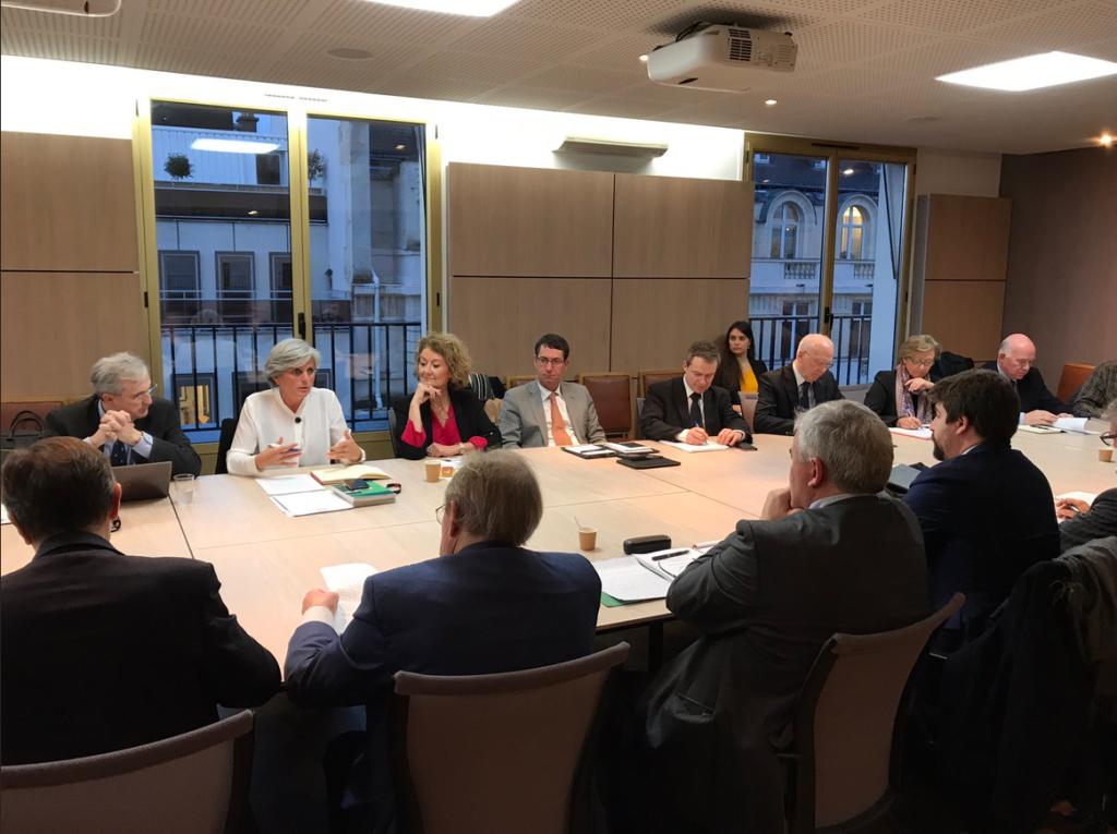 Réunion Cluster Présentation rapport_18-01-2018