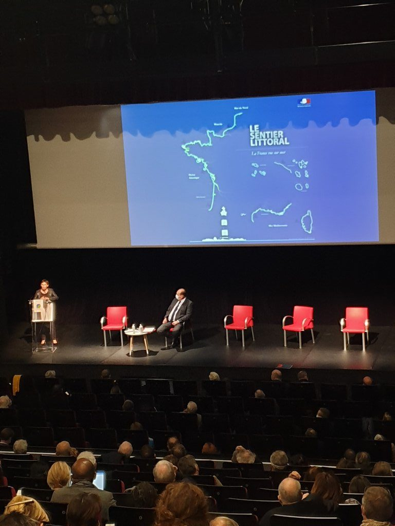 annick girardin ministre de la mer - JNE 2020