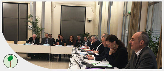 Séance plénière du Conseil National de la Mer et des Littoraux, présidée par le ministre François de RUGY