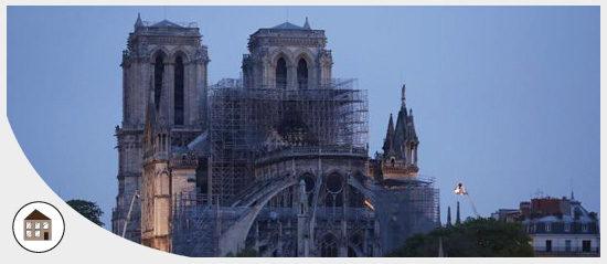 Le président de l'ANEL a souhaité apporter le soutien de l'Association suite à l'incendie de la cathédrale Notre-Dame de Paris