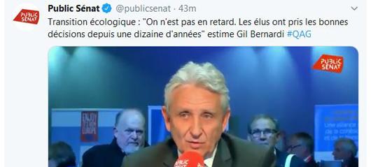 Interview Gil BERNARDI - novembre 2019 Public Sénat