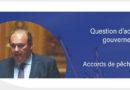Jean-François RAPIN interpelle la ministre sur le retard des licences de pêche pour la zone des 6-12 milles marins